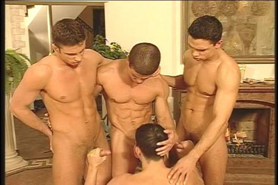 [Pacific Sun Entertainment] Cock-sucking and Fucking Party with 4 Yummy European Guys!