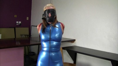 Latex Dress Collared Leashed And Trained