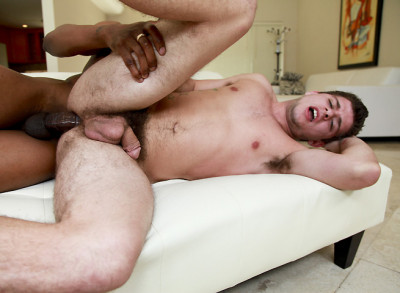 It's Gonna Hurt - Guy gets Huge Dick in the Asshole (Izzy & AJ Monroe)