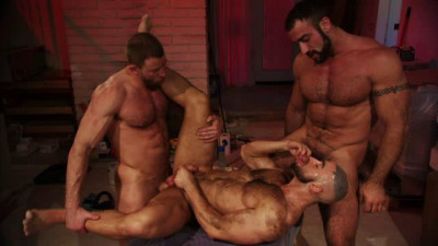 TitanMen Exclusive Francois Sagat with Shay Michaels and Spencer Reed - Incubus - Scene 1