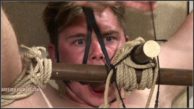 Joel – 4 – Extreme Bondage, Testicles And Dick Pegged