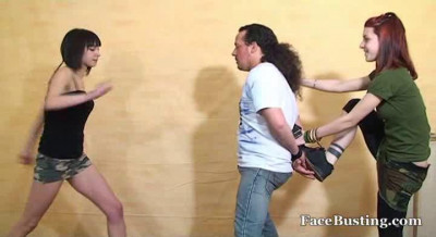 Ballbusting Bustard Girls 4 Video