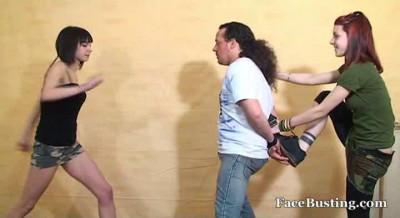 Ballbusting Bustard Girls 4 Video