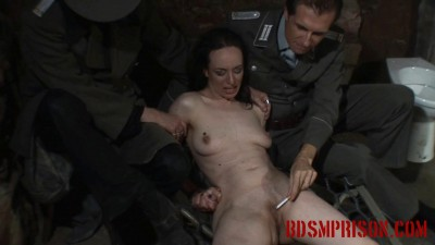 BDSMPrison – Spy Nadja Endures Cigarette Play In Her Interrogation