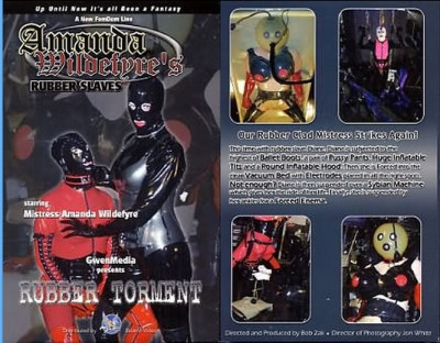 Amanda Wildefyre's Rubber Slaves-Rubber Ponies