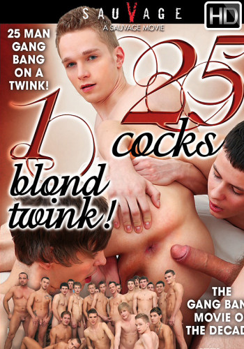 25 Cocks 1 Blond Twink HD