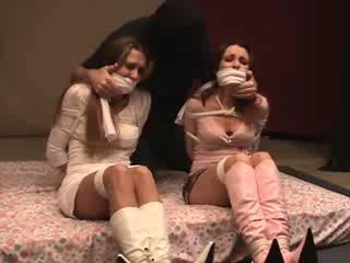 Undercover Co-eds Lindsey Sinclaire, Jocelyn Summers, Cassidy Brewer