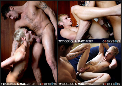 CockyBoys - Ty Roderick Breaks in Max Carter (2013)