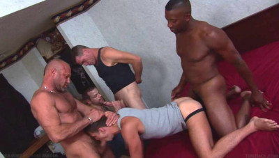 Brutal Orgy With Mature & Young Men