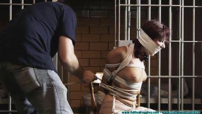 Smalltown Jail - Rinn Hogcuffed, F to Excerise, then Hogtied - Part 1