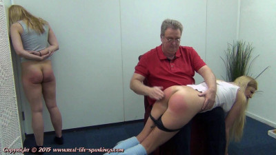 Ivey's first spanking