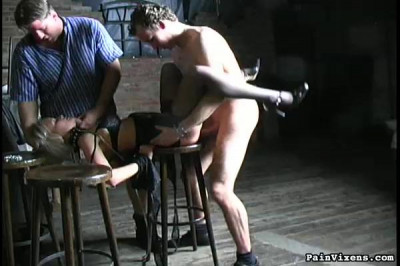 Blonde Captive Fucked