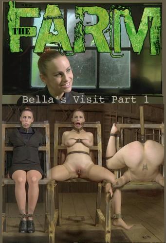 Infernalrestraints - Sep 05, 2014- The Farm - Bella's Visit - Part 1 - Bella Rossi