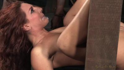 SexuallyBroken – Nov 20, 2015 – Sexy Squirting Savannah Fox Roughly Fucked In Strict Bondage