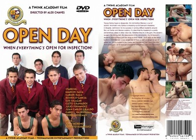 Open Day (Alex Chaves, OTB - Twink Academy / Teenmanager Entertainment Production)