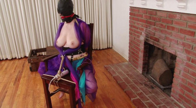Big Tit Barefoot Harem Slave in Stocks Chains and Manacles – Lorelei Part 1
