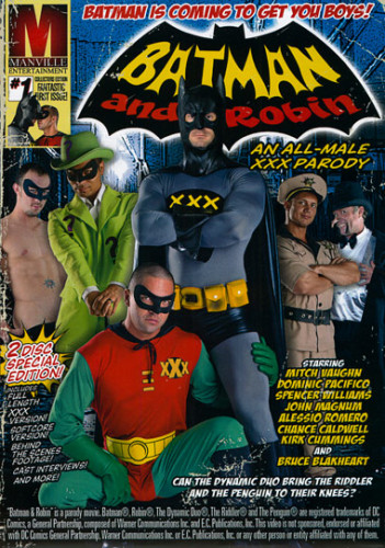 Manville Entertainment — Batman & Robin: An All Male XXX Parody