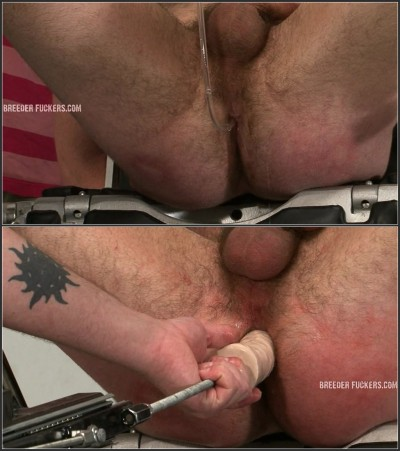 Rob - 3 - Tied and gagged, arsehole shaved and filled with water