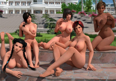 or Alive 5: Last Nude Round part 1