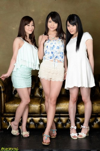 Megumi Shino, Yui Kawagoe, Maria Ono — Group Sex In The Country Of Cherry Blossoms