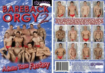 Bareback Orgy 2 - A Swim Team Fantasy