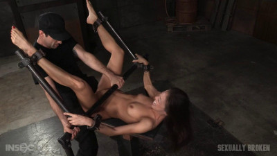 Legendary Kalina Ryu Bound And Used Hard In Classic Fuck Me Position With Facefucking And Vibrators