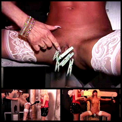 Tanned Blonde Gets Punished - BT