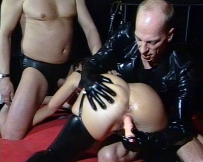 Hard meat and rubber
