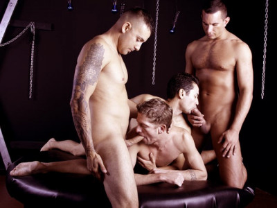 HBarebacking — Erik, Gabriel, Ian and Jason