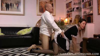 Lara Latex (French Maid Gets Fucked)