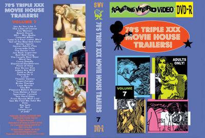 Bucky's '70s Triple XXX Movie House Trailers Vol. 7