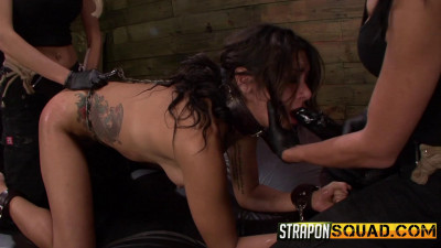 Anal Hook Double Penetration Bdsm Fun With Isa Mendez, Mila Blaze & Ava Kelly
