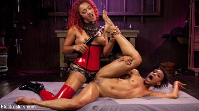 Daisy's Revenge: Nikki Darling shocked and anally strap-on Fucked!