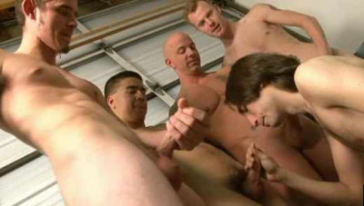 Slut Boys In Sucking Orgy