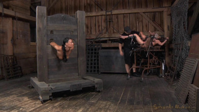 Sluts Restrained In Strict Bondage