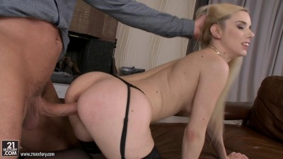 Blonde With Stockings Gets Fucked Nicely (1080)