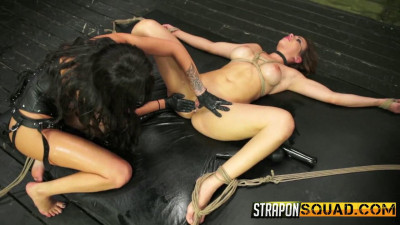 StraponSquad – Jun 09, 2015 – First Time Lesbian Domination Slave Training