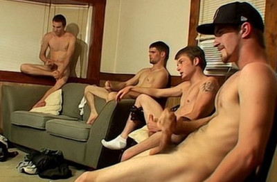 Straight Thug Circle Jerk - Billy Da Kidd, Cain, Cherokee, Nolan and Potter