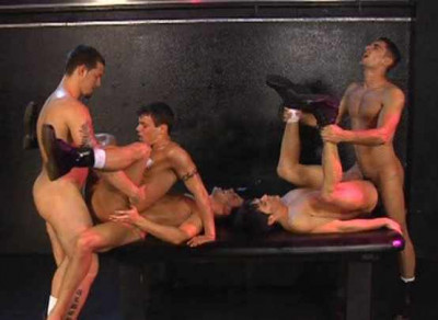 Big Dicks Gangbang At Club