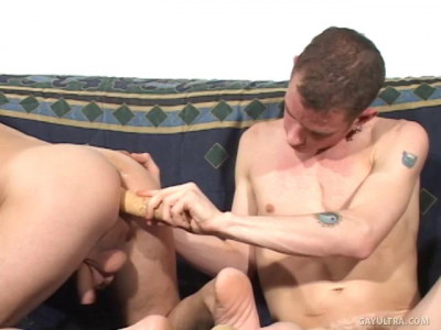 Delicious Jocks Working Asses with Toys
