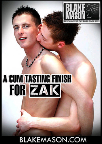 A Cum Tasting Finish For Zak