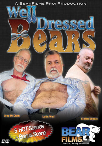 Well Dressed Bears - gay organism mating doggystyle.