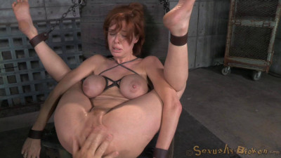 Redheaded MILF Veronica Avluv Bound And Fucked Rough And Hard, Massive Squirting Multiple Orgasms