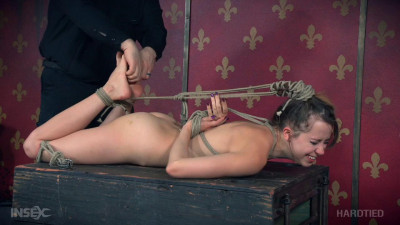 Zoey Laine Bent Back Bondage Bitch (2016)