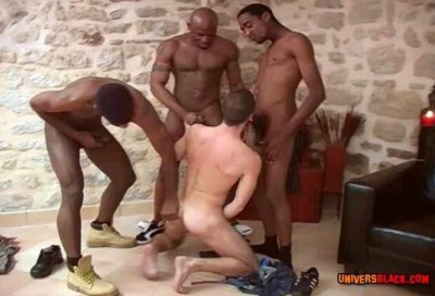 Bangala Interracial Gangbang cover
