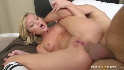 Young Naughty Blonde Loves A Big Cock