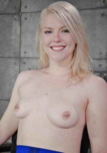 Lush Blonde Ella Nova Gets Bound And Throatboarded By 2 Big Dicks, BBC , HD 720p