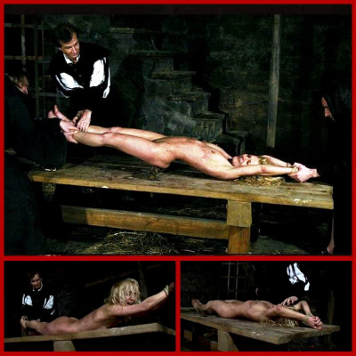 Sorceress Romina Endures Table Torment - BrutalDungeon