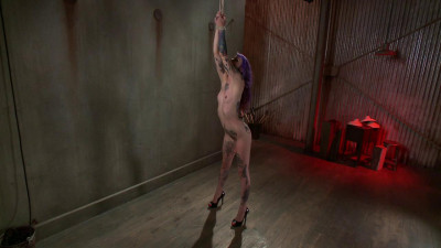 Sexy, Tattooed Slut Gets Fucked In All Of Her Holes