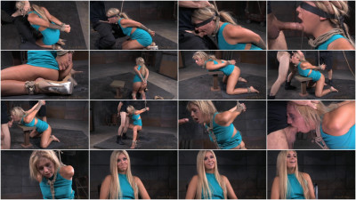 Blue Eyed Blonde Madelyn Tightly Tied And Roughly Fucked